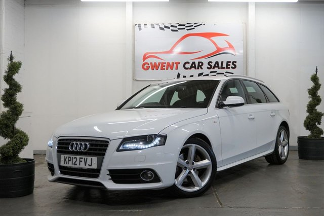 USED 2012 12 AUDI A4 2.0 AVANT TDI S LINE SPECIAL EDITION 5d AUTO 141 BHP DRIVES SUPERB, LONG MOT, GOOD SPEC