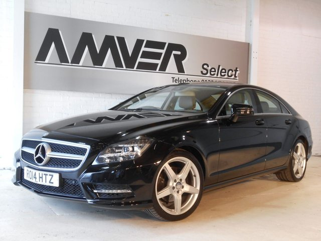 2014 14 MERCEDES-BENZ CLS CLASS 2.1 CLS250 CDI BLUEEFFICIENCY AMG SPORT 4d AUTO 204 BHP