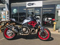 USED 2017 17 DUCATI MONSTER M821 ABS TRACTION MODES ETC.