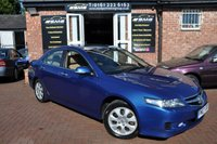 2007 HONDA ACCORD 2.0 EXECUTIVE VTEC 4d 155 BHP £1995.00