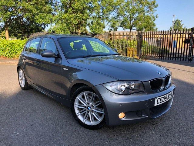 2009 09 BMW 1 SERIES 2.0 118D M SPORT 5d 141 BHP