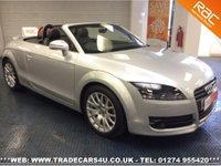 2009 AUDI TT  ROADSTER CONVERTIBLE 1.8 TFSI TURBO £SOLD