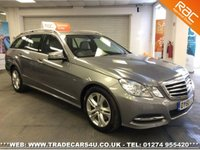 USED 2010 60 MERCEDES-BENZ E 250 CDI BLUE F CDI AUTO AVANTGARDE ESTATE UK DELIVERY* RAC APPROVED* FINANCE ARRANGED* PART EX