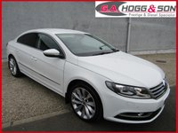 USED 2015 15 VOLKSWAGEN CC 2.0 GT TDI BLUEMOTION TECHNOLOGY 4dr 140 BHP *PRISTINE CONDITION*