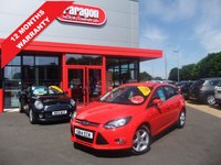 USED 2014 14 FORD FOCUS 1.6 ZETEC NAVIGATOR 5d 104 BHP ****12 months warranty****