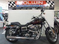 USED 2015 65 HARLEY-DAVIDSON DYNA 1690cc FXDL 103 DYNA LOWRIDER 1690 15  ONLY 4,900 MILES!!!!