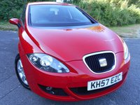 2007 SEAT LEON 1.6 STYLANCE 5d 101 BHP ** STUNNING EXAMPLE WITH ONLY 68K ** £3495.00