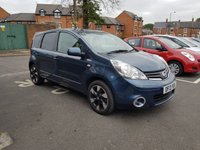 2013 NISSAN NOTE 1.6 N-TEC PLUS 5d 110 BHP £5995.00