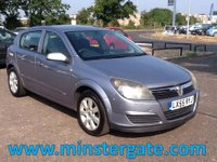 2005 VAUXHALL ASTRA 1.6 BREEZE 16V TWINPORT 5d 100 BHP * 1 OWNER, FULL VAUXHALL HISTORY * £2190.00