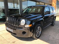 USED 2010 10 JEEP PATRIOT 2.0 SPORT CRD 5d 139 BHP GPS Satellite Navigation RDS Radio CD Player With Multi Media AUX Connectivity