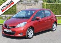 2012 TOYOTA YARIS 1.3 VVT-I TR 5d 98 BHP £5795.00
