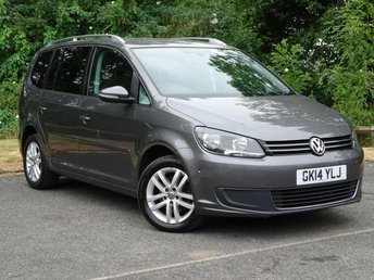 2014 VOLKSWAGEN TOURAN 1.6 SE TDI BLUEMOTION TECHNOLOGY DSG 5d AUTO  £10270.00