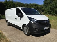 2015 VAUXHALL VIVARO 1.6 2900 L2H1 CDTI P/V 1d 114 BHP LONG WHEEL BASE, 1 OWNER £8995.00