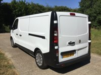 USED 2015 65 VAUXHALL VIVARO 1.6 2900 L2H1 CDTI P/V 1d 114 BHP LONG WHEEL BASE, 1 OWNER LONG WHEEL BASE, 1 OWNER, RECENT MAIN DEALER SERVICE,