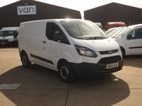 2016 FORD TRANSIT CUSTOM 2.0TDCi  T290 L1 H1 105 BHP AIR CON  New Euro 6 Engine £12395.00