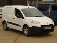 2015 PEUGEOT PARTNER 1.6 HDI PROFESSIONAL L1 850 1d 89 BHP AIRCON BLUETOOTH AND MUCH MORE £6450.00