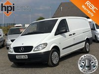 2010 MERCEDES-BENZ VITO 2.1 109 CDI LONG LWB £4990.00