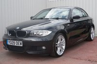 USED 2009 09 BMW 1 SERIES 2.0 123D M SPORT 2d 202 BHP FULL SERVICE HISTORY