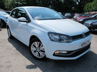 USED 2015 15 VOLKSWAGEN POLO 1.0 SE 3d 60 BHP LOVELY VW POLO 1.2 SE