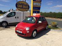 2012 FIAT 500 COLOUR THERAPY 1.2 3 DOOR ** 2 LADY OWNERS**FFSH**ONLY 42K** £4595.00