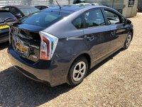 2015 TOYOTA PRIUS 1.8 T3 VVT-I 5d AUTO 99 BHP £17900.00
