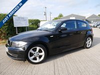 USED 2008 08 BMW 1 SERIES 2.0 118D EDITION ES 3d 141 BHP INCLUDED RAC 6 MONTHS WARRANTY+BREAKDOWN