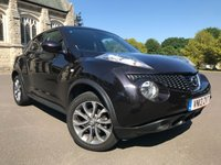 USED 2013 13 NISSAN JUKE 1.5 TEKNA DCI 5d 110 BHP FNSH, LOVELY SPEC, FULL LEATHER INTERIOR, REVERSING CAMERA, READY TO GO!!!