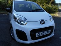 USED 2013 63 CITROEN C1 1.0 VT 3d 67 BHP **  £0 ROAD TAX , 64 MPG , NICE VEHICLE **