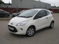 USED 2012 12 FORD KA 1.2 STUDIO 3d 69 BHP