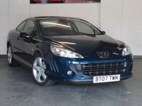 2007 PEUGEOT 407 2.7 COUPE SE HDI 2d AUTO 202 BHP £SOLD