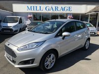 USED 2017 17 FORD FIESTA 1.0 ZETEC 5d 100 BHP ECO-BOOST WITH NAV