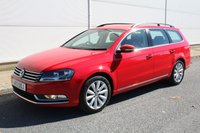 2013 VOLKSWAGEN PASSAT 2.0 HIGHLINE TDI BLUEMOTION TECHNOLOGY 5d 139 BHP £7490.00