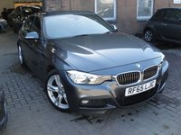 USED 2015 65 BMW 3 SERIES 2.0 320D M SPORT 4d 188 BHP ANY PART EXCHANGE WELCOME, COUNTRY WIDE DELIVERY ARRANGED