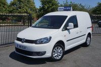 USED 2013 W VOLKSWAGEN CADDY 1.6 TDI C20 Highline Panel Van 4dr Ply Lined Ready for Work