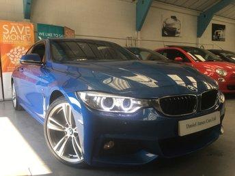 2014 BMW 4 SERIES 2.0 420D M SPORT 2d AUTO 181 BHP
