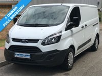 2014 FORD TRANSIT CUSTOM L2H1 290 LWB LOW ROOF 2.2 100 BHP £8995.00