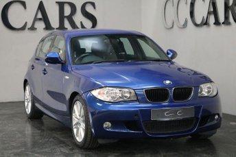 2010 BMW 1 SERIES 2.0 118D M SPORT 5d 141 BHP £3795.00
