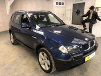 2004 BMW X3 2.5 SPORT 5d 190 BHP £3295.00