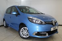 USED 2014 64 RENAULT SCENIC 1.5 DYNAMIQUE TOMTOM ENERGY DCI S/S 5d 110 BHP RENAULT SERVICE HISTORY + HALF LEATHER SEATS + SAT NAVIGATION + BLUETOOTH + CRUISE CONTROL + CLIMATE CONTROL + MULTI FUNCTION WHEEL + 15 INCH ALLOY WHEELS