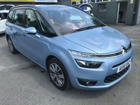 USED 2015 15 CITROEN C4 GRAND PICASSO 2.0 BLUEHDI EXCLUSIVE 5 DOOR 148 BHP IN METALLIC BLUE WITH 7 SEATS AND 65000 MILES APPROVED CARS ARE PLEASED TO OFFER THIS CITROEN C4 GRAND PICASSO 2.0 BLUEHDI EXCLUSIVE 5 DOOR 148 BHP IN METALLIC BLUE WITH A GREAT SPEC INCLUDING ELECTRIC WINDOWS,7 SEATS AND ALLOYS WITH A FULL CITROEN MAIN DEALER SERVICE HISTORY A GREAT FAMILY SUMMER CAR.