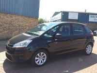 2009 CITROEN C4 PICASSO 1.6 VTR PLUS HDI EGS 5d 107 BHP Part Exchange To Clear  £2695.00