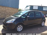 USED 2009 58 CITROEN C4 PICASSO 1.6 VTR PLUS HDI EGS 5d 107 BHP Part Exchange To Clear  A Great Family Car With Loads Of Room,Service History, Part Exchange to Clear