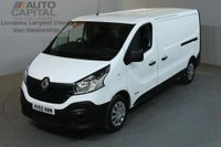 USED 2015 65 RENAULT TRAFIC 1.6 LL29 BUSINESS L2 H1 DCI S/R P/V 5d 115 BHP LWB PANEL VAN ONE OWNER FROM NEW / MUST SEE