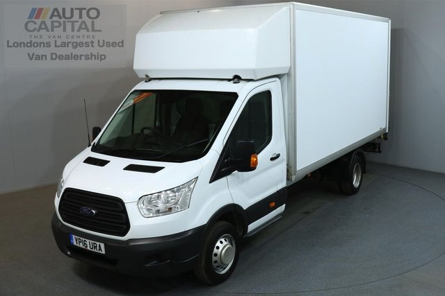 2016 16 FORD TRANSIT 2.2 350 124 BHP L4 EXTRA LWB REAR TAIL LIFT FITTED