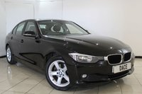 USED 2013 13 BMW 3 SERIES 2.0 320D SE 4DR AUTOMATIC 182 BHP FULL SERVICE HISTORY + HEATED LEATHER SEATS + SAT NAVIGATION + PARKING SENSOR + BLUETOOTH + MULTI FUNCTION WHEEL + CLIMATE CONTROL + 17 INCH ALLOY WHEELS