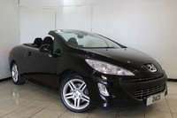 USED 2010 10 PEUGEOT 308 1.6 CC SE THP 2DR 150 BHP PARKING SENSOR + CRUISE CONTROL + RADIO/CD + CLIMATE CONTROL + 17 INCH ALLOY WHEELS