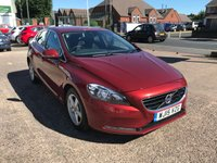 USED 2015 15 VOLVO V40 1.6 D2 SE 5d 113 BHP FULL DEALER HISTORY-1 OWNER-ZERO £££ ROAD TAX-DIESEL-ALLOYS-A/C