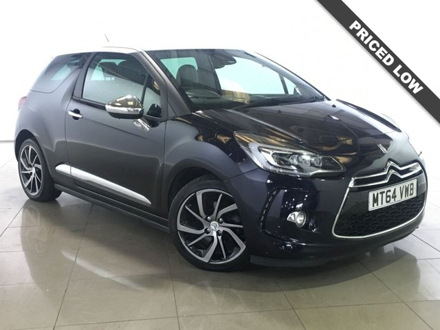 View our 2014 64 CITROEN DS3 1.6 THP DSPORT PLUS S/S 3d 163 BHP