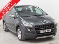 USED 2011 60 PEUGEOT 3008 1.6 EXCLUSIVE HDI 5d 112 BHP 2 Owners, Full Service History, MOT - February 2019, Glass Roof, Parking Sensors, Bluetooth, Aircon