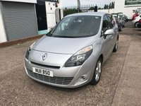 2011 RENAULT SCENIC 1.9 DYNAMIQUE TOMTOM DCI 5d 130 BHP £SOLD